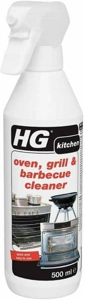 HG Oven BBQ Cleaner Spray Grill Barbecue Quick Easy Heavy Duty Cleaner 500 ml